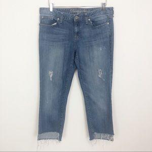GAP Premium Skinny Step Hem Jeans.